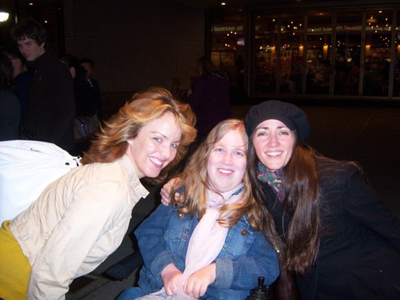 Karin, Tamra, and Alice Ripley from Next to Normal
