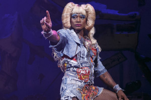Taye Diggs in Hedwig and the Angry Inch Photo by Joan Marcus