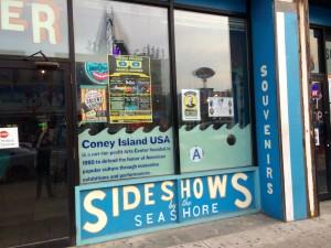 Coney Island Side Show Entrance
