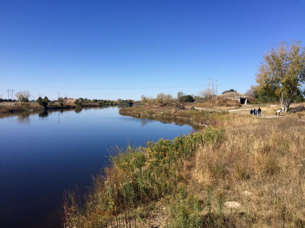 Pawnee earth dwelling beside the Platte River, Kearney, Nebraska