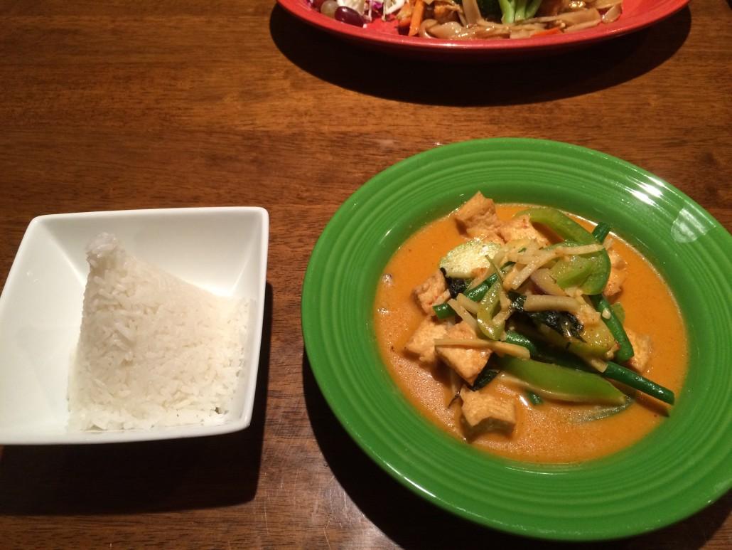 Red curry at Suwannee Thai Cuisine