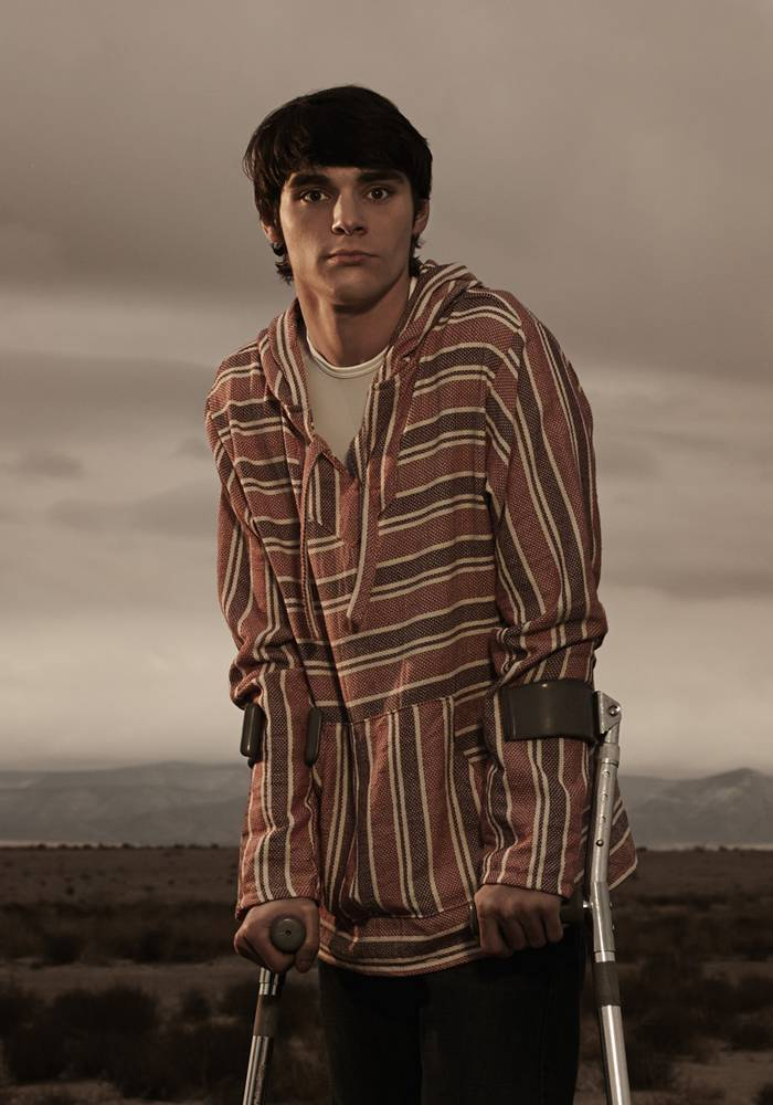 As a person with cerebral palsy in real life, RJ Mitte brings depth and realism to his portrayal of Walter White Jr on Breaking Bad.