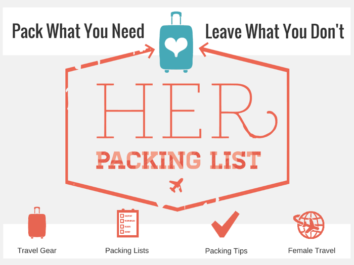 Her Packing List logo