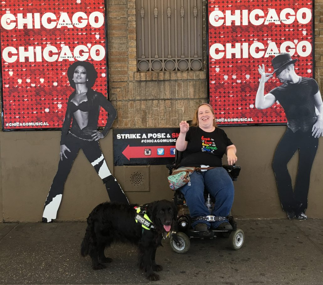 Wheelchair Accessible Broadway theatre information -- how to get tickets and have a great time in New York City.