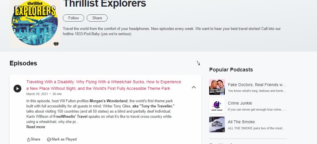 Thrillist Explorers Podcast featuring Karin Willison